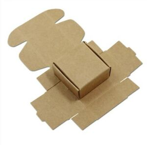 100 Pcs Gift Boxes Jewerly Box Cardboard Paper Boxes Craft Mailing Wholesale Box