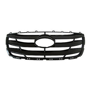 Hy1200155 New Replacement Front Grille Fits 2010 2012 Hyundai Santa Fe
