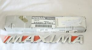 1999 2001 Nissan Maxima Factory Oem Name Emblem Rear 84894 2y901