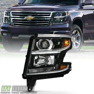 2015 2018 Chevy Tahoe Suburban Headlight Headlamp W bulb Replacement Driver Side