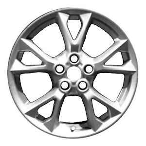 62582 Oem Reconditioned Wheel 18in 2012 2014 Nissan Maxima Med Charcoal Painted