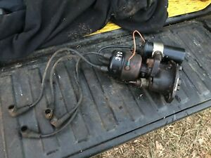 Ih Farmall 340 Row Crop Complete Distributor And Coil Assembly Off Runner