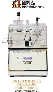 Tablet Disintegration Apparatus With Water Bath Fitted With Heaters Ip bp usp