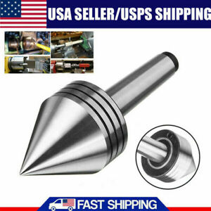 1pc Mt2 60 Live Lathe Bearing Tailstock Center For Metal Wood Turning Tool Us