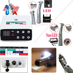 Dental Brushless Electric Micro Motor 1 5 Increasing led Optic Handpiece F nsk