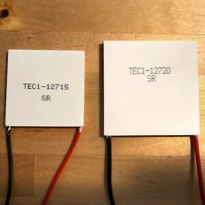 Tec1 12720 Large 20a Thermoelectric Peltier Cooler Module 50 50mm