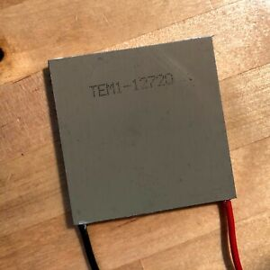 Tec1 12720 Aluminum Plate Large 20a Thermoelectric Peltier Cooler Module 50 50mm