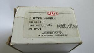Reed Cutter Wheels Hs6 Code 03506 For H6 Hinged Cutter Box Of 4 new