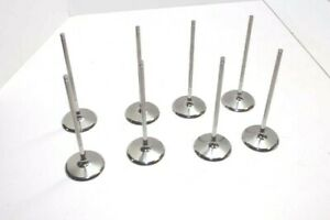 New Del West Titanium Intake Valves 6mm X 2 200 Head R07 Chevy Ford Xceldyne
