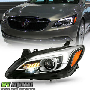2017 2019 Buick Lacrosse Hid Xenon W Afs Led Drl Projector Headlight Driver