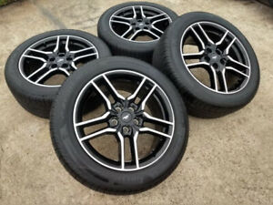 2018 2019 2020 Ford Mustang Gt 18 Oem Rims Wheel Tires 235 50zr18 Set