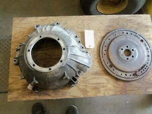 Ford C4 Transmission Bell Housing And Flex Plate C50p 7976 A Used