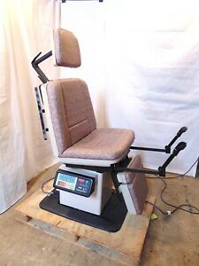 Midmark 411 Programmable Power Exam Chair Nice Tapestry Upholstery S4920