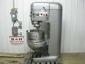 Hobart 140 Qt V1401c Heavy Duty Bakery Mixer W Stainless Bowl Dough Hook