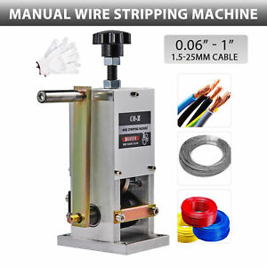 Scrap Cable Stripper Wire Stripping Machine Manual For Scrap Copper Recycling