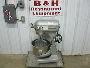 Hobart A 200 20 Qt Heavy Duty Bakery Dough Mixer W Stainless Bowl Paddle