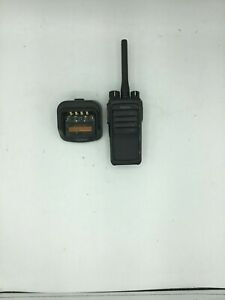 Hytera Pd502 Digital Mobile Radio W Charging Dock Used Free S h