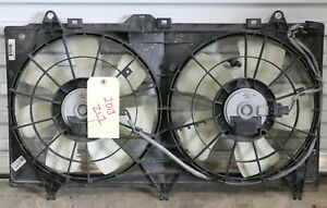 2012 2015 Camaro Ss Ls3 Zl1 Engine Dual Electric Cooling Fans Shroud Used Oem