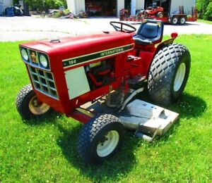 Vintage 1980 International 184 Lowboy Tractor Belly Mower