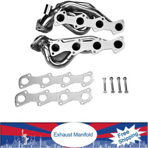 Exhaust Manifold Headers For Eh 142 97 03 F150 Chevy Block T Bucket Roadster