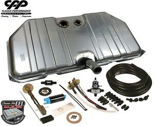 70 73 Chevy Camaro Ls Efi Fuel Injection Notched Gas Tank Conversion Kit 340lph