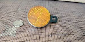 Vintage Lucas Amber Side Reflector New Old Stock Triumph