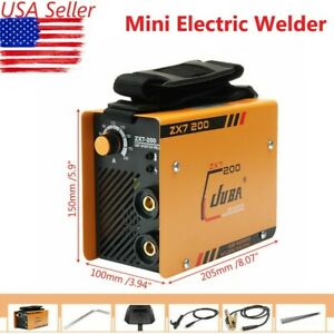 220v Mini Electric Welding Machine Igbt Dc Inverter Arc Mma Handheld Welder Tool