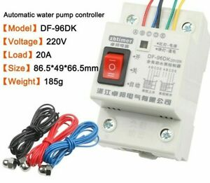 Automatic Water Level Controller Switch 10a 220v Water Tank Liquid Level Detect