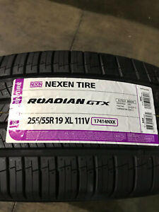 2 New 255 55 19 Nexen Roadian Gtx Tires