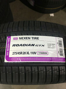 4 New 275 45 20 Nexen Roadian Gtx Tires