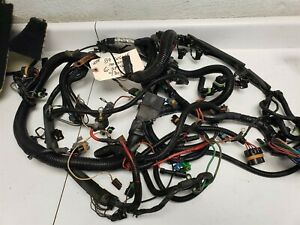 1989 Corvette C4 Engine Ecm Harness L98 For Manual Zf Transmission Used
