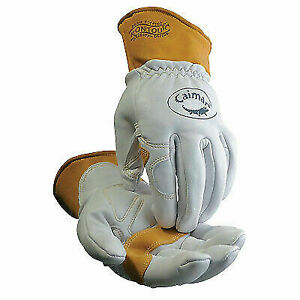 Sheep Grain Unlined Palm Wool Insulated Back Tig mig multi task Welding Gloves