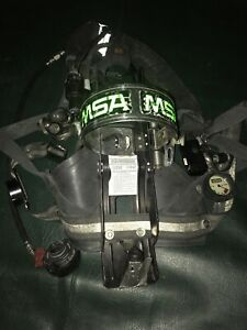 Msa Air Pack Pak Harness Firefighter Scba Self Contained Breathing 4500 Psi