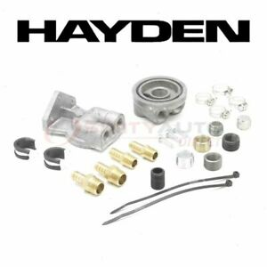 Hayden Oil Filter Remote Mounting Kit For 2009 2015 Nissan Gt r Engine Wy