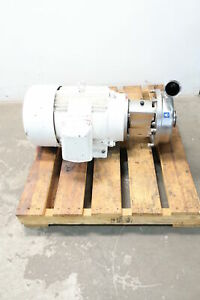Alfa Laval Lkh 25 Stainless Centrifugal Pump 2 1 2in X 3in 25gpm 15hp 460v ac