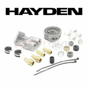 Hayden Oil Filter Remote Mounting Kit For 1972 1976 Ford Gran Torino Ro