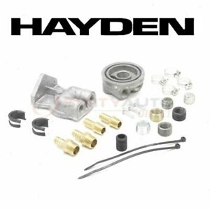 Hayden Oil Filter Remote Mounting Kit For 1955 2007 Ford F 250 Engine Lj