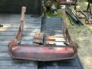 Ih Farmall 340 Row Crop Front Radiator And Nose Support With Brackets