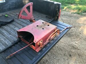 Ih Farmall 340 Row Crop Rear Fast Hitch Control Linkages And Seat Mount