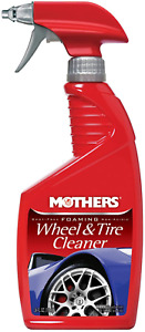 Wheel Tire Cleaning Spray Car Cleaner Foaming Auto Vehicle Rim Care 24 Ounce New