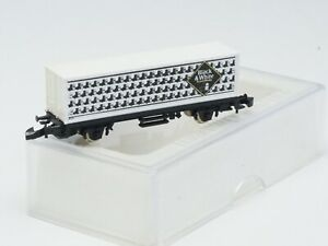 Marklin Z-scale Container Car Company  Black & White Whiskey  special edition