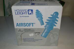 Howard Leight Dpas 30w Airsoft Reusable Corded Ear Plugs Nrr 27 100 Pair Box