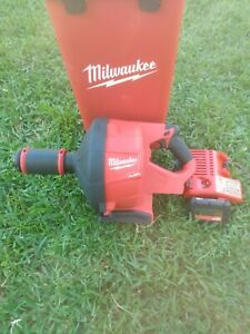 Milwaukee 2772a 21 Fuel M18 Drain Snake W cable Drive Locking Sistem Kit