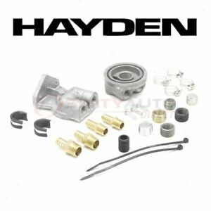 Hayden Oil Filter Remote Mounting Kit For 2000 Saturn Ls Engine Filters Sc
