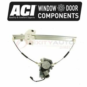 Aci Front Right Power Window Motor Regulator Assembly For 2006 2007 Jeep Pg