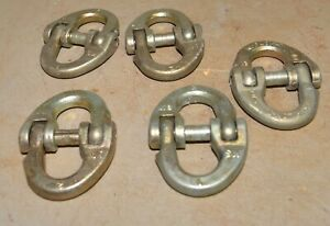 4 Kuplok Chain Cupping Link 1 2 13 Swivel Logging Tool Truck Safety Tow Hitch