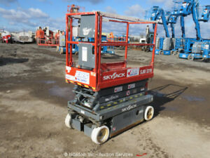 2005 Skyjack Sjii3219 19 Electric Scissor Lift Man Aerial Bidadoo repair