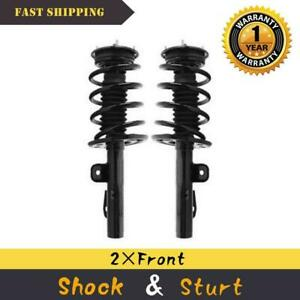 Front Pair Shocks Struts Coil Spring Set For 2010 2012 Ford Taurus