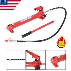 1pc 10 Ton Hydraulic Porta Power Replacement Pump Ram Hand Tools