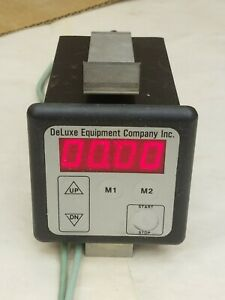 Deluxe Equipment Company Electronic Oven Timer 8322 2398 2000 Very Clean Works